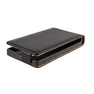 お買い得  携帯電話ケース-ケース 用途 その他 Nokia ノキアLumia 830 Nokiakケース フリップ フルボディーケース 純色 ハード PUレザー のために ノキアLumia 435