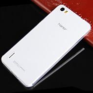 Для Кейс для Huawei Ультратонкий / Прозрачный Кейс для Задняя крышка Кейс для Один цвет Мягкий TPU Huawei Huawei Honor 6