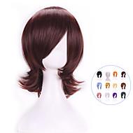 Горячая продажа новых стильных Harajuku аниме косплей парики жаропрочных молодых короткошерстных цветам синтетический парик волос