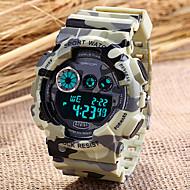 Χαμηλού Κόστους Επώνυμα ρολόγια-SANDA Αντρικά Αθλητικό Ρολόι Ρολόι Καρπού Ψηφιακό ρολόι Χαλαζίας Ψηφιακό Γιαπωνέζικο Quartz LCD Ημερολόγιο Χρονογράφος συναγερμού