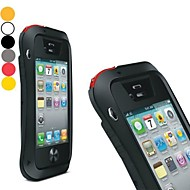 lovemei krachtige aluminium bumper outdoorartikelen armor waterdichte harde case voor iPhone 4 / 4s