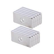 preiswerte Spielzeuge & Spiele-Magnetspielsachen 10Pcs 20x10x3mm Magnetspielsachen / Super Strong Seltenerd-Magneten / Neodym - Magnet Executive-Spielzeug Puzzle-Würfel
