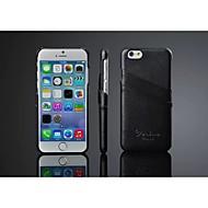 Недорогие Кейсы для iPhone 8 Plus-Кейс для Назначение Apple iPhone 8 iPhone 8 Plus iPhone 6 iPhone 6 Plus Бумажник для карт Кейс на заднюю панель Сплошной цвет Твердый