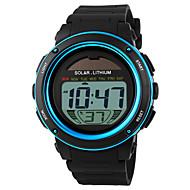 SKMEI Муж. Спортивные часы Наручные часы Цифровой Будильник Календарь Секундомер Защита от влаги Работает от солнечной энергии Спортивные