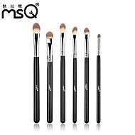 msq® 6kpl musta varret meikki harjalla asettaa