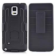 Для Samsung Galaxy Note Защита от удара / со стендом Кейс для Задняя крышка Кейс для Армированный PC Samsung Note 4 / Note 3 / Note 2