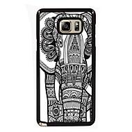 Для Samsung Galaxy Note Чехлы панели С узором Задняя крышка Кейс для Слон PC для Samsung Note 5 Edge Note 5 Note 4 Note 3