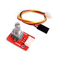 Adjustable Potentiometer Module for Arduino Intelligent Home Furnishing
