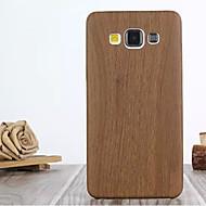 Mert Samsung Galaxy tok Minta Case Hátlap Case Fa mintázat Műbőr Samsung A7 / A5 / A3