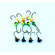 """tanie Fishing & Hunting-16 szt Návnady Przynęty Jig Przynęta metalowa Jig Head Kolory losowe g/Uncja,35 mm/1-3/8"""" cal,Twardy plastik Prowadzić MetalSea Fishing"""