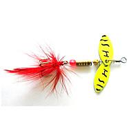 お買い得  釣り用アクセサリー-4 個 スプーン ルアー スプーン メタル 海釣り 川釣り ルアー釣り