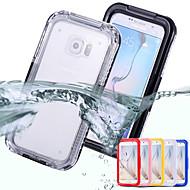 Недорогие Чехлы и кейсы для Galaxy S-Новый водонепроницаемый чехол для доказательства крышки корпуса Samsung Galaxy s6 край грязь снег шок воды обратно в s6 g9200 / s6 края