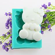 a forma di gatto fondente stampi in silicone torta al cioccolato, attrezzi della decorazione bakeware