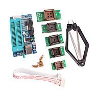 olcso Arduino tartozékok-pic K150 programozó USB automatikus programozás PLCC IC tesztelés ülés adapter készlet fejleszteni mikrokontroller