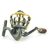 olcso Fishing & Hunting-Pergető léki horgászáshoz รอกตกปลา Pergető léki horgászáshoz 5.2:1 12 Golyós csapágy cserélhető Csalidobó Léki horgászat Sodort Folyóvíz