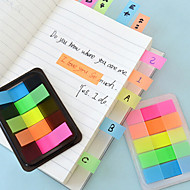 preiswerte Schreibwaren-Box verpackt bunte Haftnotizen