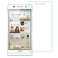 お買い得  スクリーンプロテクター-スクリーンプロテクター Huawei のために Huawei P6 強化ガラス 1枚 ハイディフィニション(HD)