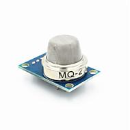billige Arduino tilbehør-fc-22-en mq-2 brændbar gas sensor modul til flydende gas / propan - blå + sølv