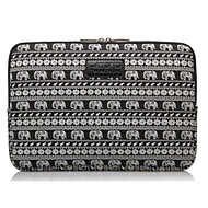 "voordelige PC & Tabletaccessoires-olifant streep prints laptop hoes sleeves shakeproof geval voor 14 ""ThinkPad oppervlak dell sony pk samsung acer asus"