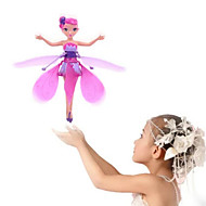 cheap RC Toys-RC Helicopter Hovering Angel 2ch Hover Remote Control Remote Control / RC Above Your Hand Rainbow light Flying Fairy Princess
