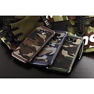 Для Кейс для  Samsung Galaxy Защита от удара Кейс для Задняя крышка Кейс для Камуфляж PC Samsung A8 / A7 / A5