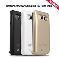 abordables Fundas de Batería para Dispositivos Samsung-Caja de la batería de reserva portable externo 4200mah para Samsung borde s6 galaxia más (colores surtidos)
