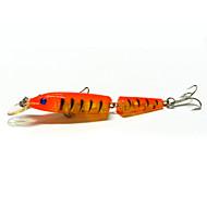 お買い得  釣り用アクセサリー-1pc ハードベイト / ミノウ / ルアー ハードベイト / ミノウ 硬質プラスチック 海釣り / 川釣り / バス釣り