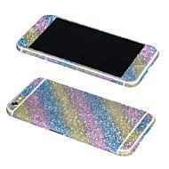 Недорогие Защитные пленки для iPhone-Передняя сторона + + полная тела экрана Bling наклейки для Iphone 6 плюс / 6S плюс (ассорти цветов)