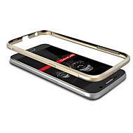 Для Кейс для  Samsung Galaxy Покрытие Кейс для Бампер Кейс для Один цвет Металл Samsung S6