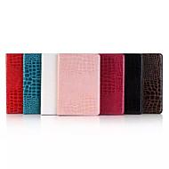 olcso iPad tokok-7.9 hüvelykes krokodilbőr mintás magas színvonalú luxus műbőr tok iPad mini 4 (vegyes színek)