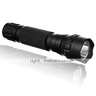 5 LED Flashlights / Torch LED 1200 lm 5 Mode Cree XP-E R2 Impact Resistant Rechargeable Waterproof Strike Bezel Emergency Ultraviolet