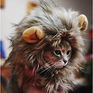 Недорогие Бижутерия и аксессуары для собак-Кошка Собака Платки и шапочки Одежда для собак Терилен Смешанные материалы Костюм Для домашних животных Косплей