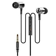 langsdom I-1高品質の3.5ミリメートルのノイズキャンセリングマイク耳のイヤホンでiphoneや他の携帯電話用