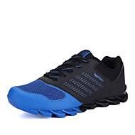 cheap -Men's Shoes Leatherette Spring / Fall Comfort Running Shoes Blue / Green / Orange