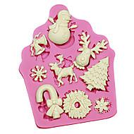 お買い得  キッチン用小物-ベークツール プラスチック DIY ケーキ ケーキ型 1個