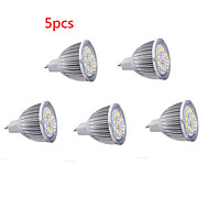 5 stuks mr16 5w led spotlight 15 smd5630 650 lm warm wit koud wit decoratief dc12v