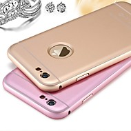 For iPhone X iPhone 8 Case Cover Frosted Back Cover Case Solid Color Hard Metal for Apple iPhone X iPhone 8 Plus iPhone 8 iPhone 6s Plus