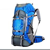 baratos Esportes e Lazer-60 L Mochila para Excursão Viagem Duffel Pacotes de Mochilas Acampar e Caminhar Caça Alpinismo Viajar Á Prova de Humidade Prova-de-Água Á