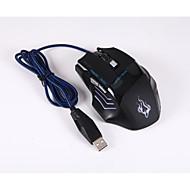 お買い得  マウス-ケーブル ゲーミングマウス 調整可能DPI バックライト 800/1200/1600/2400