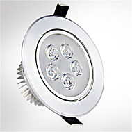 1pc LED Recessed Lights 5 High Power LED 550lm Warm/Cold White AC85-265V