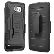 Для Samsung Galaxy Note7 Защита от удара / со стендом Кейс для Задняя крышка Кейс для Армированный PC SamsungNote 7 / Note 5 / Note 4 /