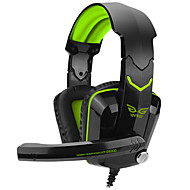 cheap Headsets & Headphones-Over-ear Game Gaming Headset  Luminous Wired Headphones Headband With Microphone Volume Control Gaming Noise-Cancelling