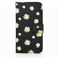 Недорогие Чехлы и кейсы для Galaxy S-Кейс для Назначение SSamsung Galaxy Кейс для  Samsung Galaxy Бумажник для карт Кошелек со стендом Флип Чехол Цветы Кожа PU для S6 edge