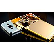 Для Кейс для  Samsung Galaxy Покрытие / Зеркальная поверхность Кейс для Задняя крышка Кейс для Один цвет PC Samsung A8 / A7 / A5