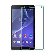 お買い得  スクリーンプロテクター-スクリーンプロテクター Sony のために Sony Xperia Z3 Compact 強化ガラス 1枚 ハイディフィニション(HD)