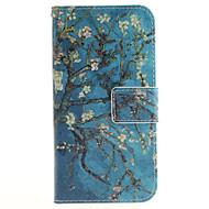 Недорогие Чехлы и кейсы для Galaxy J-Кейс для Назначение SSamsung Galaxy Кейс для  Samsung Galaxy Бумажник для карт Кошелек со стендом Флип С узором Чехол Цветы Кожа PU для