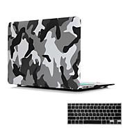 """2 in 1 mattapinta kristalli kumilla kova tapauksessa kattaa MacBook Air 11 """"/ 13"""" + näppäimistö kattaa"""