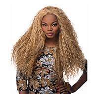 Недорогие Парики-Парики из искусственных волос Кудрявый Без шапочки-основы Жен. Блондинка Карнавальный парик Парик для Хэллоуина Длинные