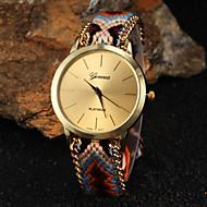 Недорогие Женские часы-Жен. Модные часы Кварцевый Горячая распродажа Материал Группа Богемные Разноцветный