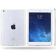 お買い得  iPadアクセサリ-ipad空気/ ipad 5 ipadケース/カバーのための高品質の半透明のtpuソフトシェル